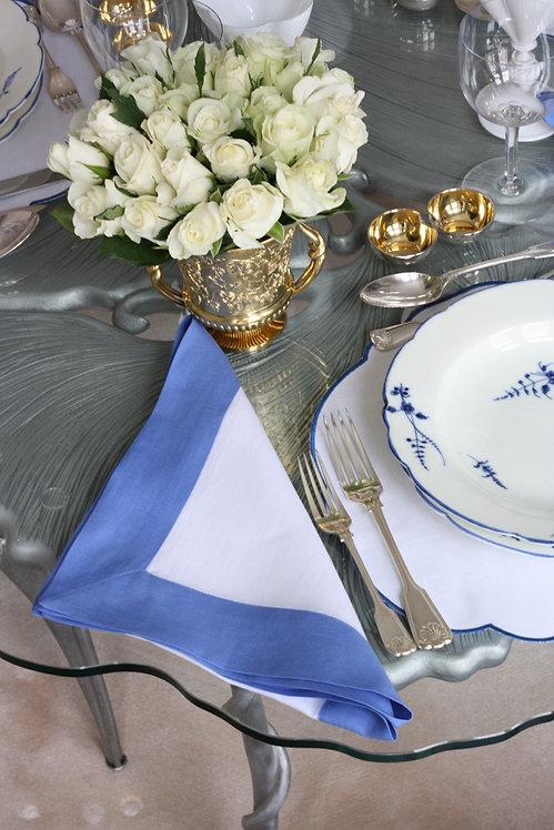 The Pimlico Collection - Pacific Blue Napkin