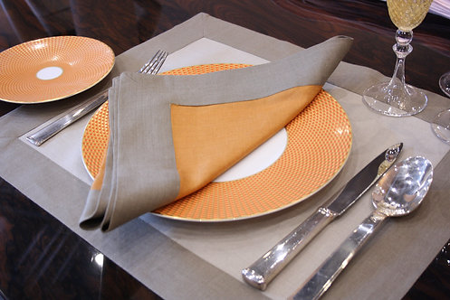The Pimlico Collection - Indian Yellow Napkin
