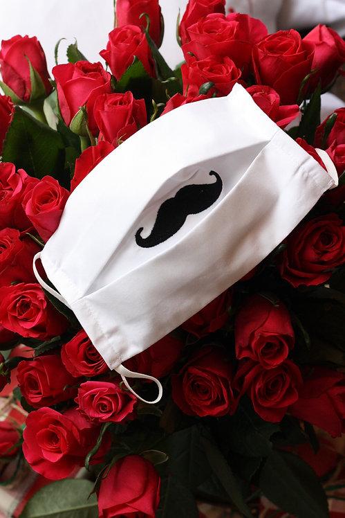 ANNE SINGER COLLECTION - Signature Moustache Mask