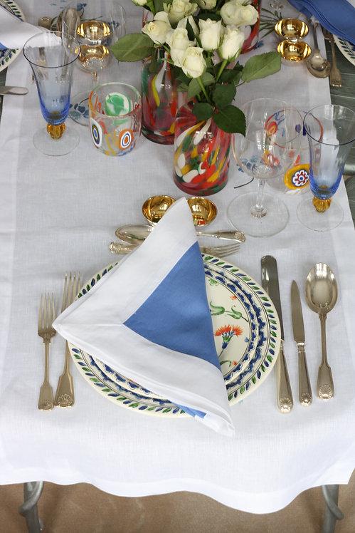 The Pimlico Collection - Mediterranean Blue Napkin