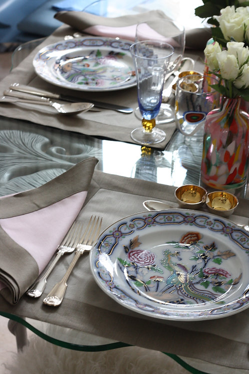 The Pimlico Collection - Egyptian Grey Placemat