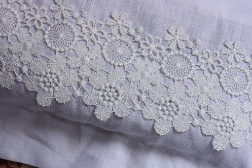 Lavender & Lace Pillow