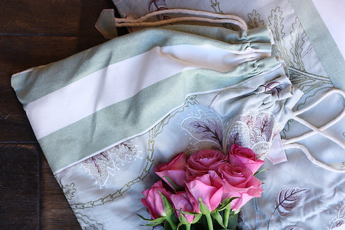 The Lilac Blooms Collection - The Cardigan Bag