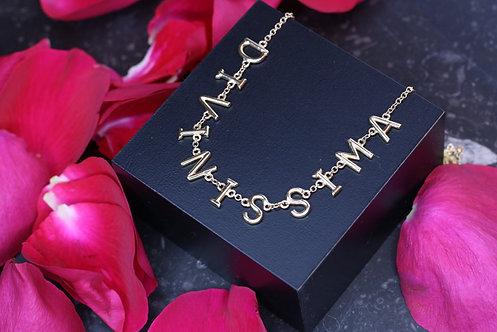 IRENE DANILOVICH - Yellow Gold Divinissima Necklace