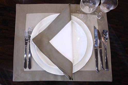 The Pimlico Collection - Swiss White Napkin