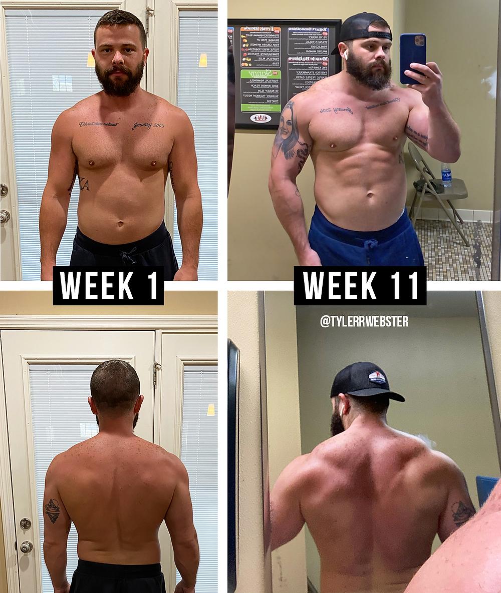 Tyler Webster's Favorite Workouts - TylerWebster.com