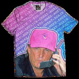 Retro Donald Trump 1-800-Make-America-Great-Again T-Shirt