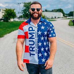 Donald Trump Keep America Great Golf Polo