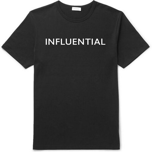 INFLUENTIAL T-SHIRT