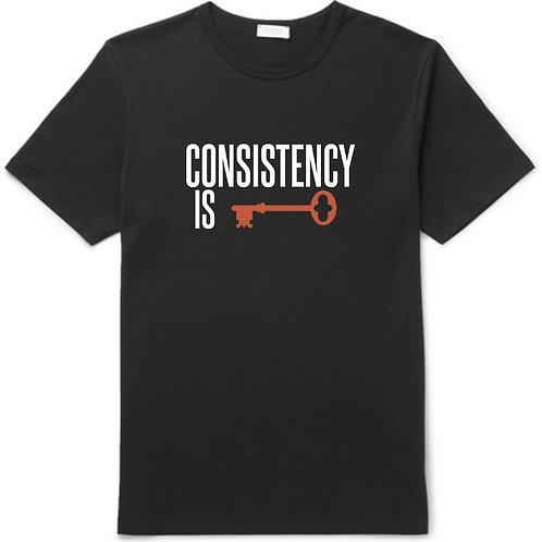 CONSISTENCY IS KEY T-SHIRT