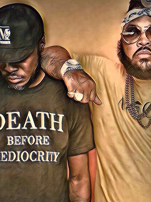 DEATH BEFORE MEDIOCRITY T-SHIRT