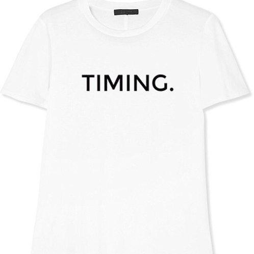 TIMING. T-SHIRT