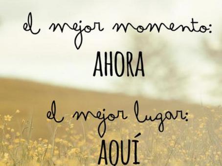Dale #follow al momento presente
