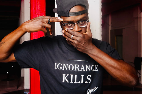 IGNORANCE KILLS T-SHIRT