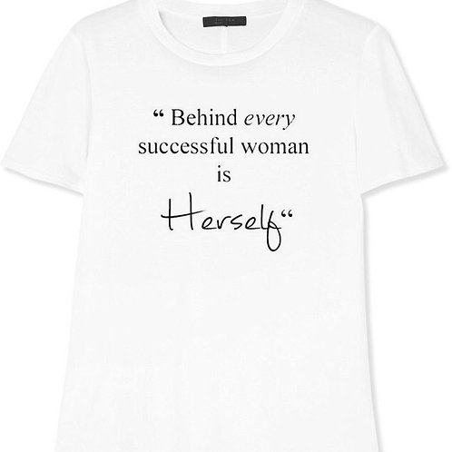 POWER IN HERSELF T-SHIRT