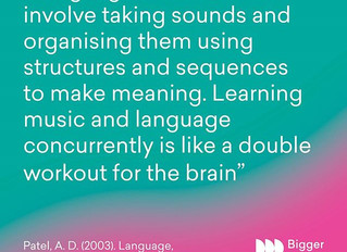 Neuro-musical science explained (or how music learning makes my child smarter)