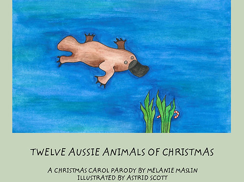 Interactive EBook Twelve Aussie Animals of Christmas