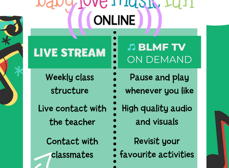 Term 2 is here. Join us for Zoom Live Streams OR anytime On Demand Classes with BLMFTV ...or do BOTH