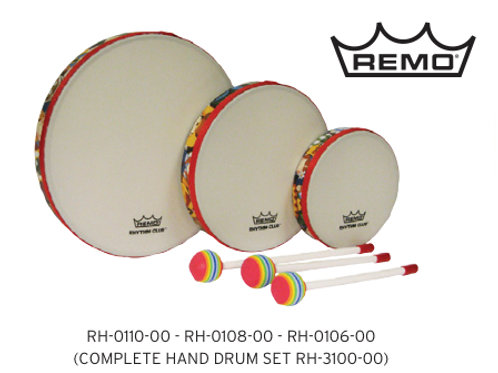 Set of 3 Drums with Mallets