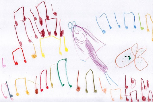 Music Notation - fine motor skills, maths and fun