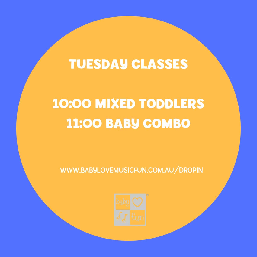 Tuesday Classes