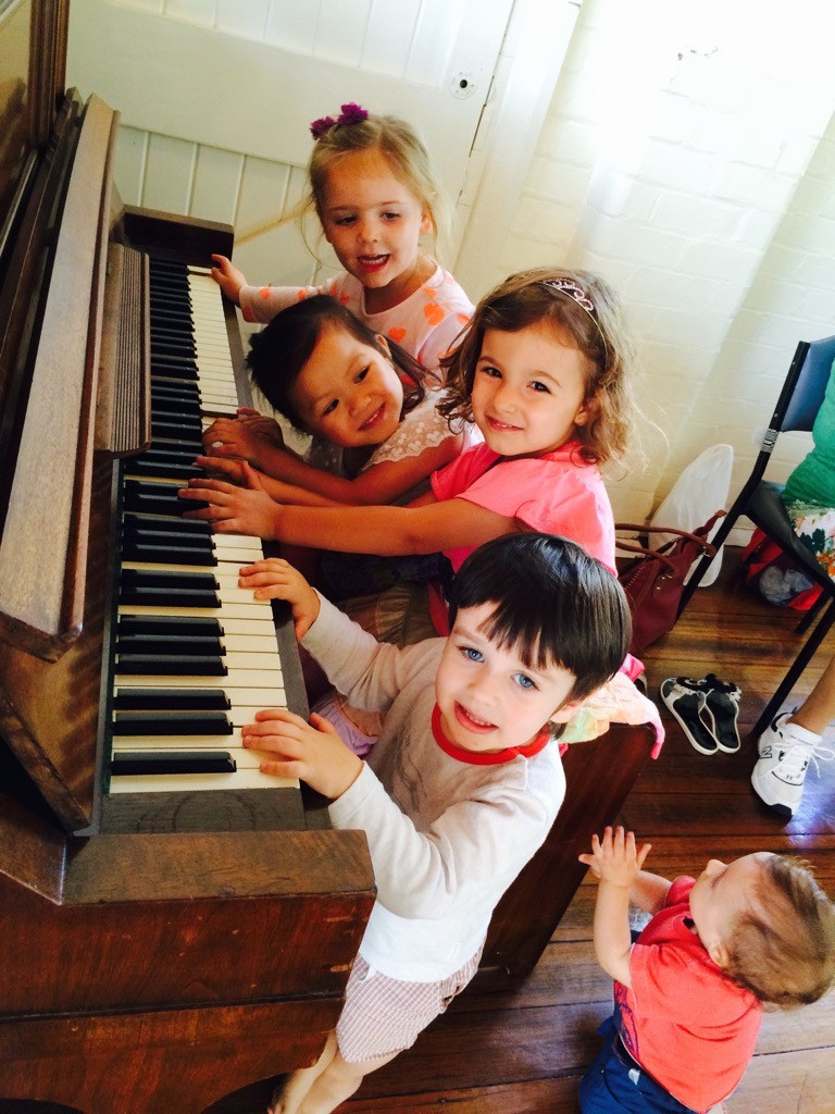our preschool music classes lead to kids who want to play music
