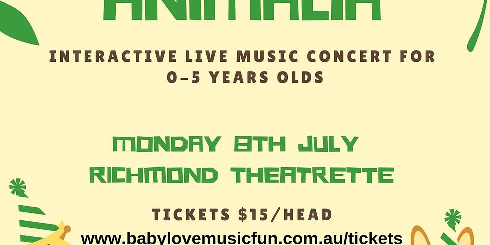 July School Holiday Family Concert - ANIMALIA