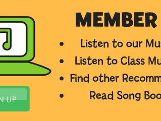 A Weekly Music Class with Benefits of Home Music Play - Are You a Member?