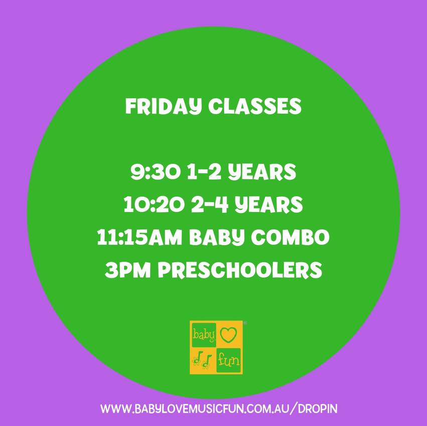 friday classes