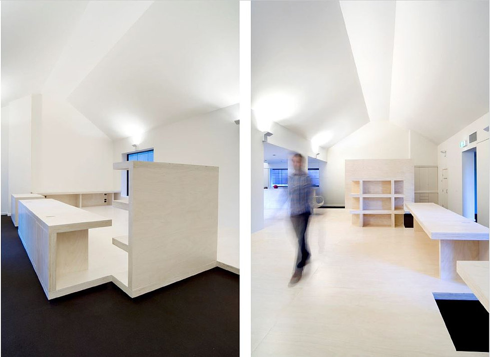 Alfred place tenancy melbourne commercial interiors by chamberlain javens architecture
