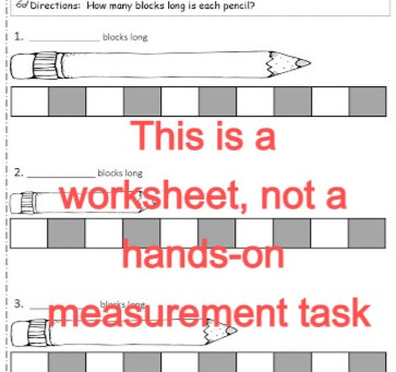 Measurement Outside the Worksheet: How Nonstandard Units Connect Counting to Measurement