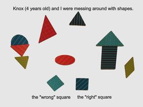 """It's a Triangle Because It Looks Like a Triangle"""