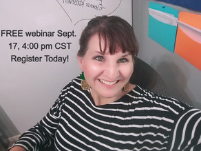 Join me for a FREE Webinar Sept. 17