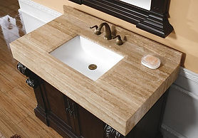 Bathroom-Vanities-Travertine-Tile-Counte