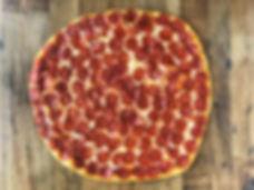 Pepperoni pizza, best pizza in san pedro, pizzeria near me