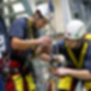 ACROPRO - formation Travail en Hauteur et échafaudage - ouvriers en intervention