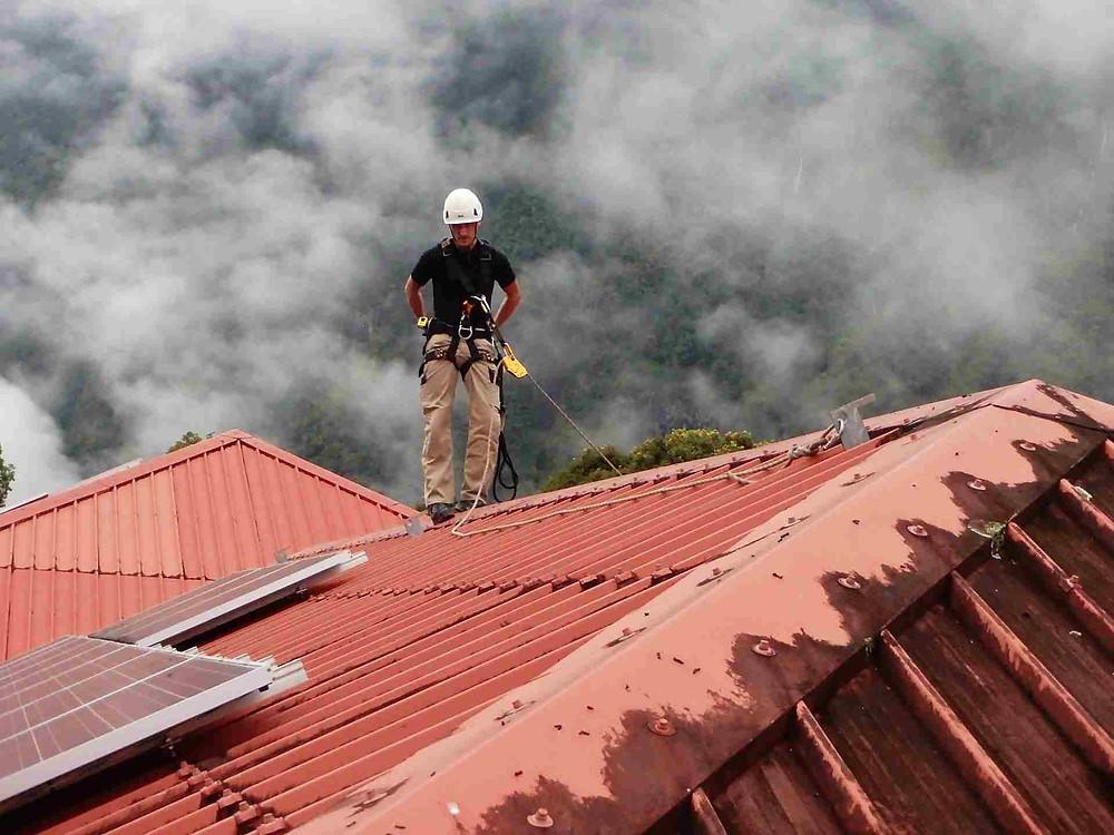 ACROPRO - Formation Travail en Hauteur - Intervention sur toiture