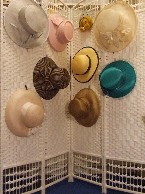 Hats and pashminas