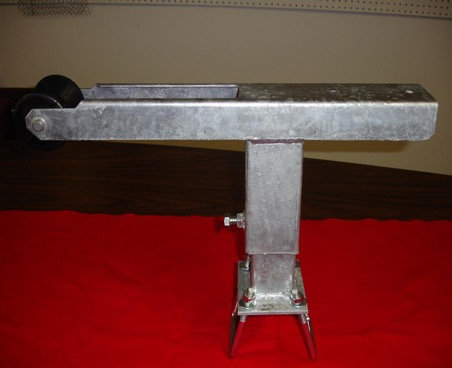 Heavy Duty Flat Boat Trailer Winch Stand