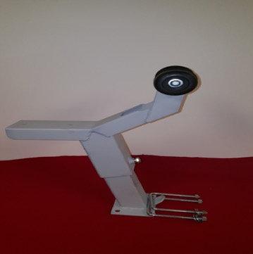 """Short Nosed Adjustable Winch Stand (Primed) 12"""" Base"""