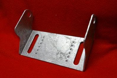 """8"""" Keel Roller Bracket for Boat Trailer (Galvanized)"""