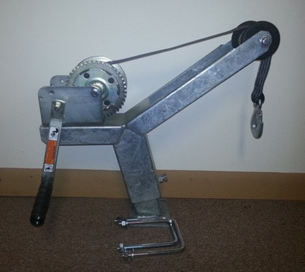 Winch Stand w/ 1400 Lbs Dutton Lainson winch