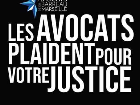 Droits face au Covid 19 : le Barreau de Marseille saisit le Conseil d'État. Celui de Paris suit