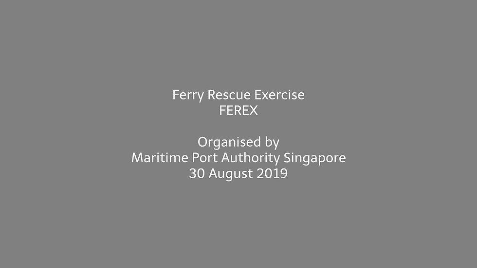 FEREX 2019 - MPA Singapore