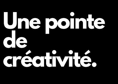 pointe de créativité tina tisley