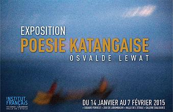 AFFICHE-POESIE KATANGAISE OSVALDE LEWAT
