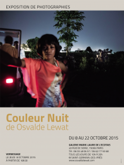 AFFICHE EXPO OSVALDE couleur nuit
