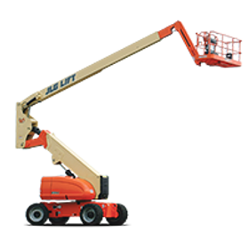 JLG 800AJ Articulating Boom Lift with Jib