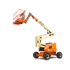 JLG 450AJ Articulating Boom Lift with Jib