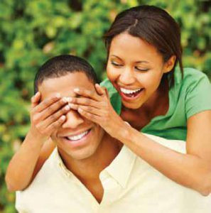 Surprises create positive emotions in relationships